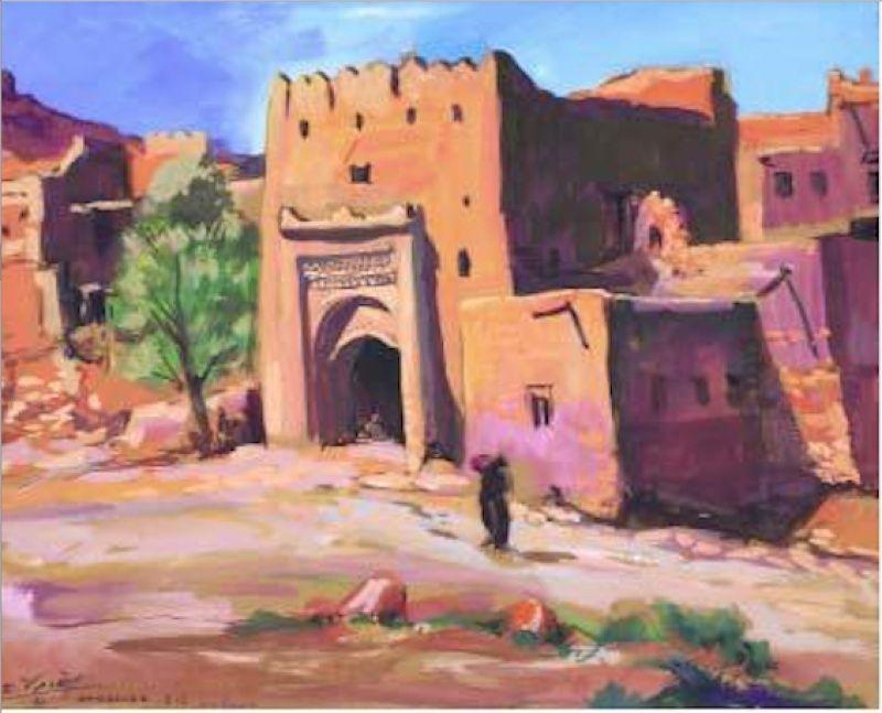 Les Peintres Orientalistes 2 - Page 16 Kasbah29