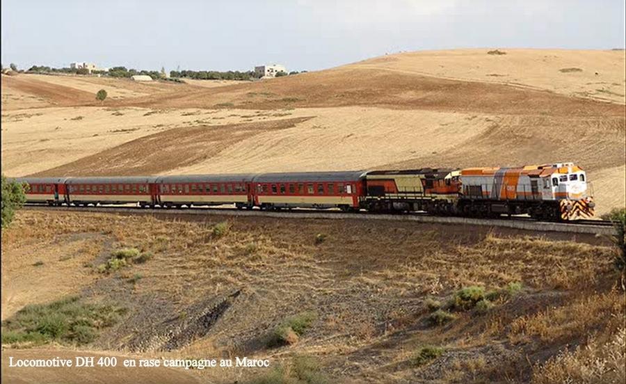 Transports CFM, Gares et Affiches du Maroc - Page 23 Locomo11