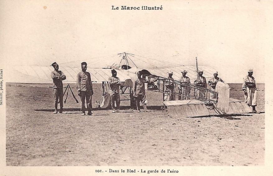 Aviation : les 1ères escadrilles et grands pilotes Maroc148