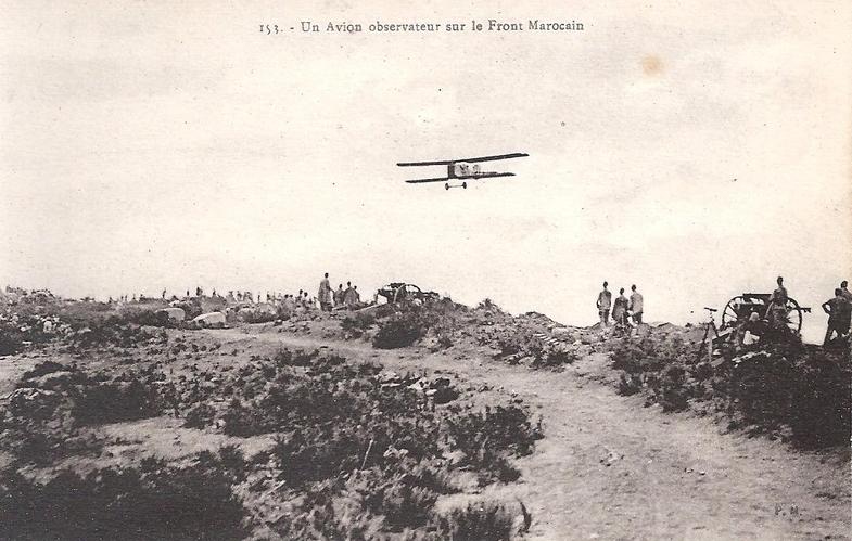 Aviation : les 1ères escadrilles et grands pilotes Maroc149