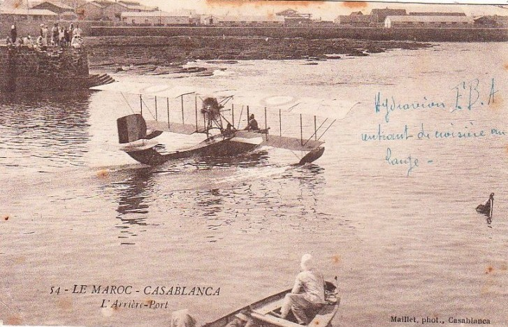 Aviation : les 1ères escadrilles et grands pilotes Maroc150