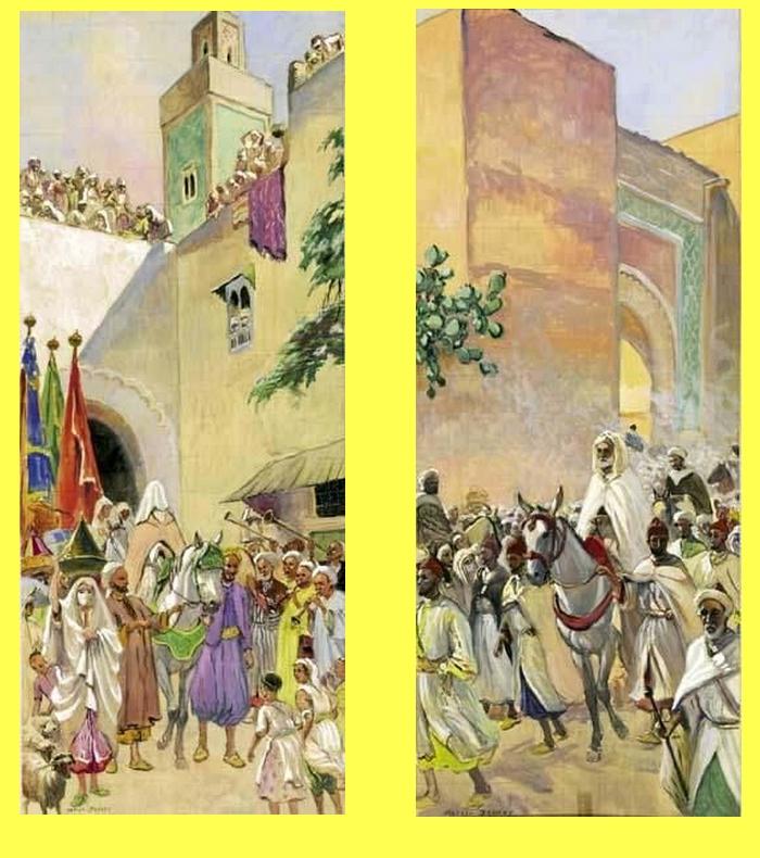 Les Peintres Orientalistes 2 - Page 16 Mathzo10