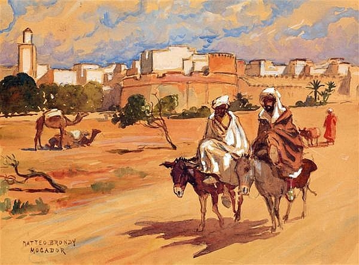 Les Peintres Orientalistes 2 - Page 16 Mattzo10