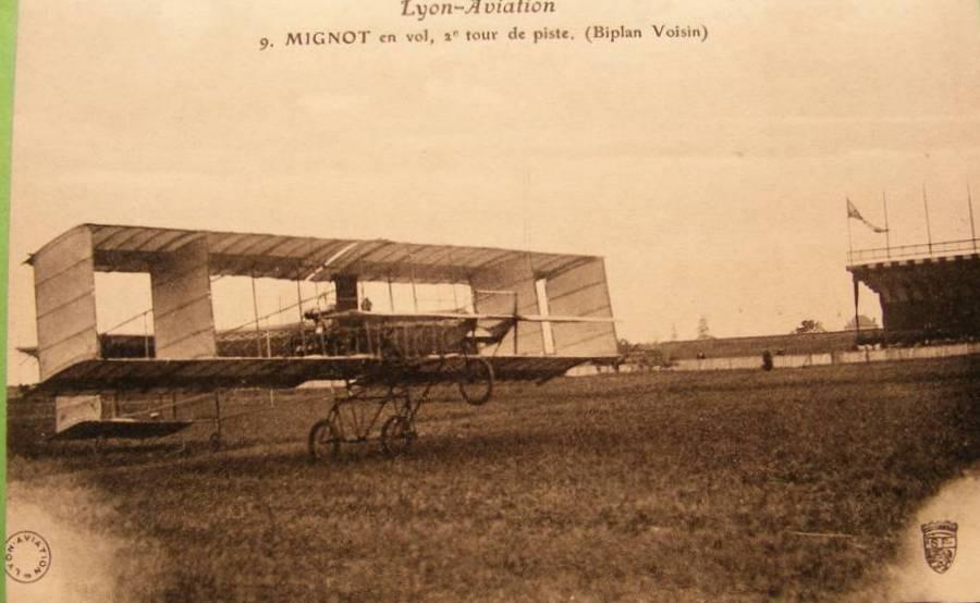 Aviation : les 1ères escadrilles et grands pilotes Mignot10