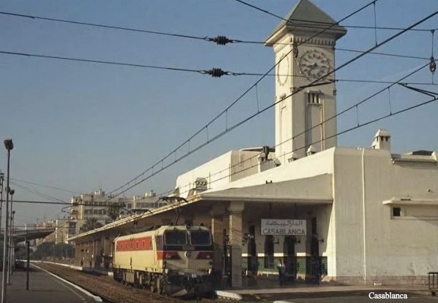 Transports CFM, Gares et Affiches du Maroc - Page 23 Oncf_g10