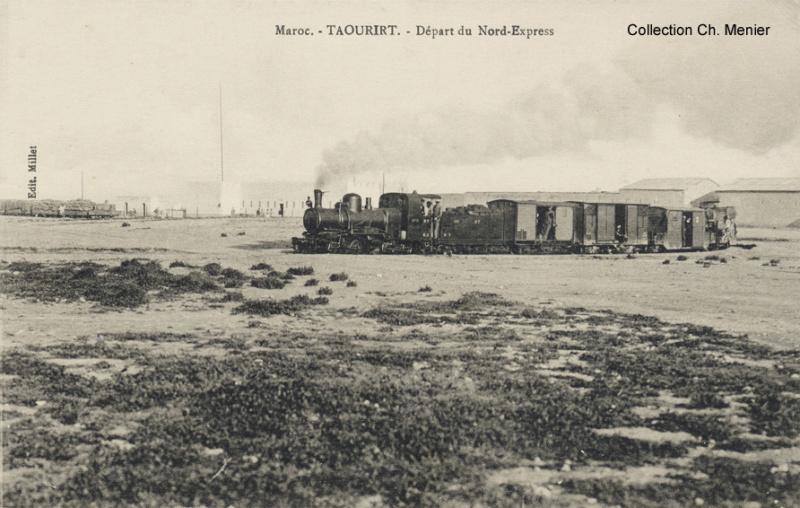 Le Tanger Fès à Meknès, les Gares, L'Ecole Taouri18