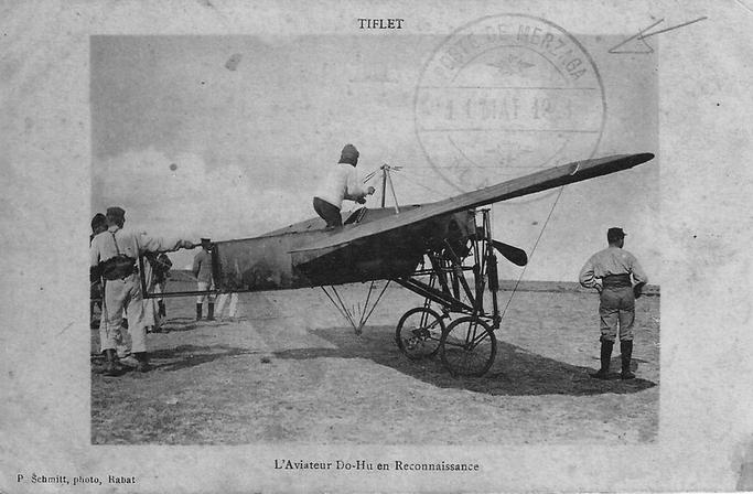 Aviation : les 1ères escadrilles et grands pilotes Tiflet10