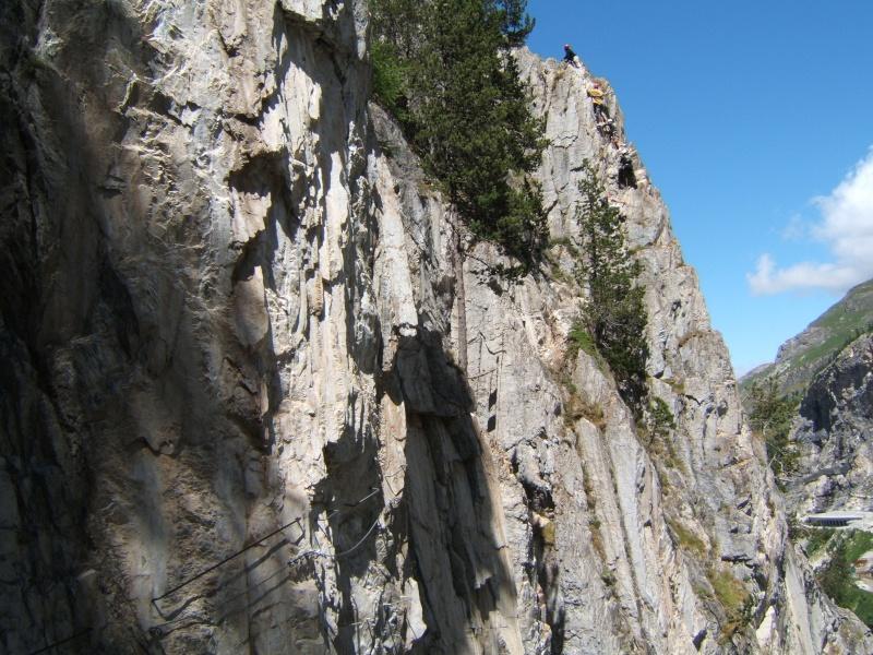 Via ferrata du Roc de Tovière Dscf6011