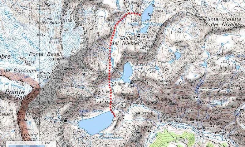 Rando Vanoise - Grand Paradis depuis le Pont de la Neige Italie10