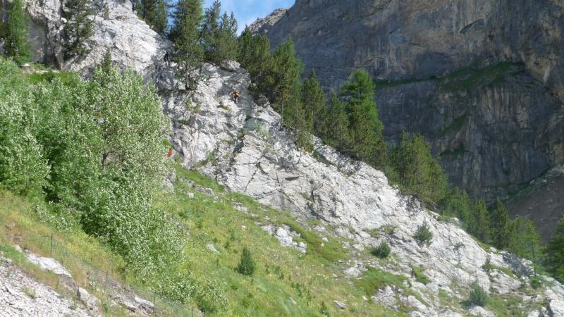 Via ferrata du Roc de Tovière P1010712