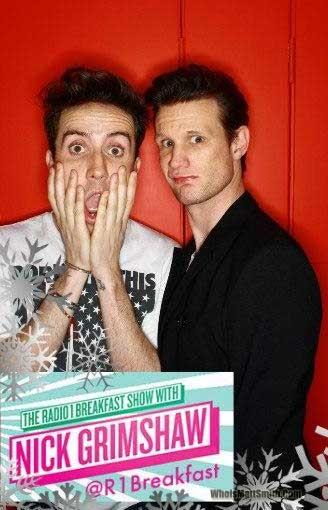 Matt à la radio Matt-r10