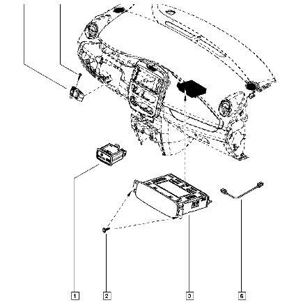Lecteur carte sd hs - Indisponible chez Renault Lecteu10