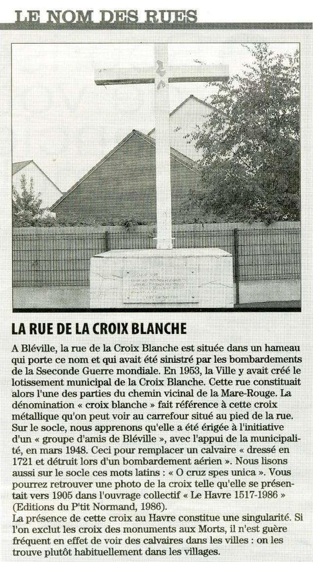 bléville - Bléville - Rue de la Croix-Blanche 2009-010
