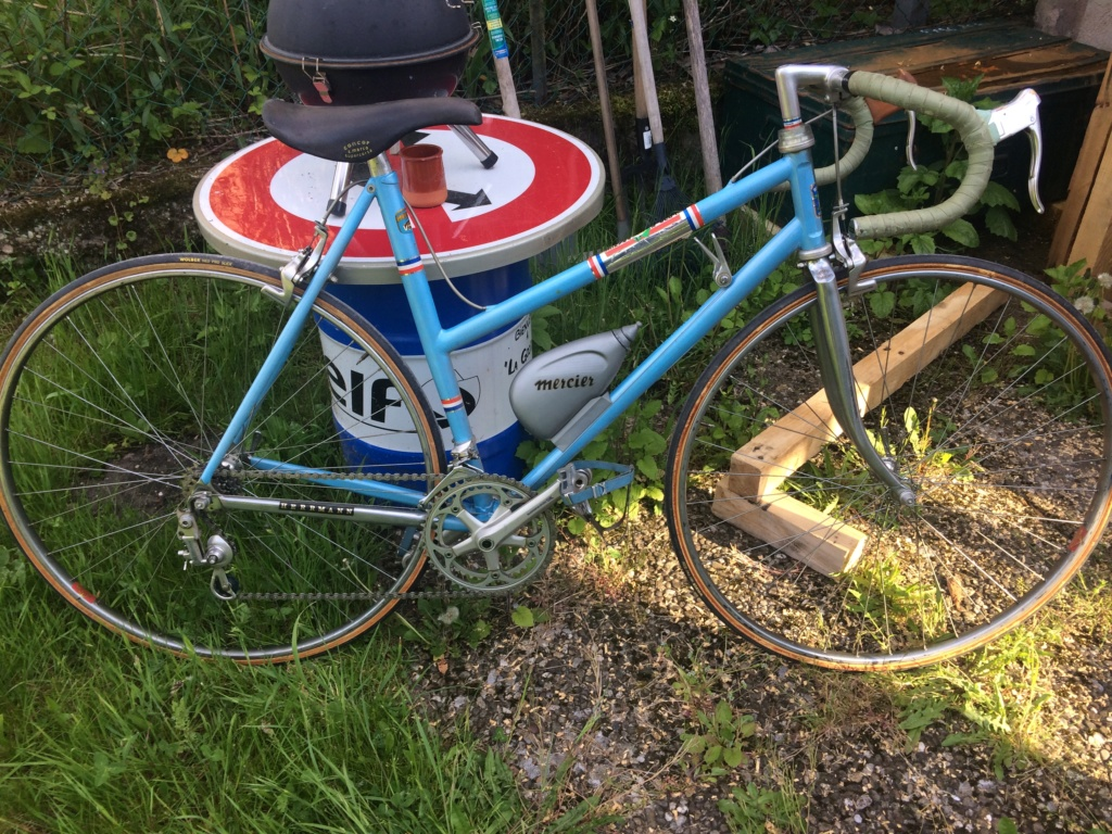 Vélo course mercier Dame  Mercie10