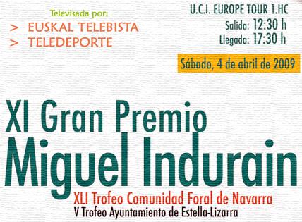 GP MIGUEL INDURAIN --Espagne-- 04.04.2009 Anunci10