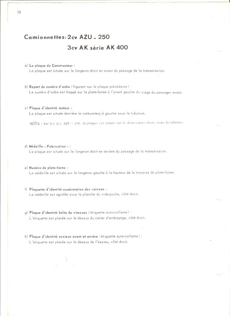 Présentation et Fourgonnette 3cv AK 350 Numari30