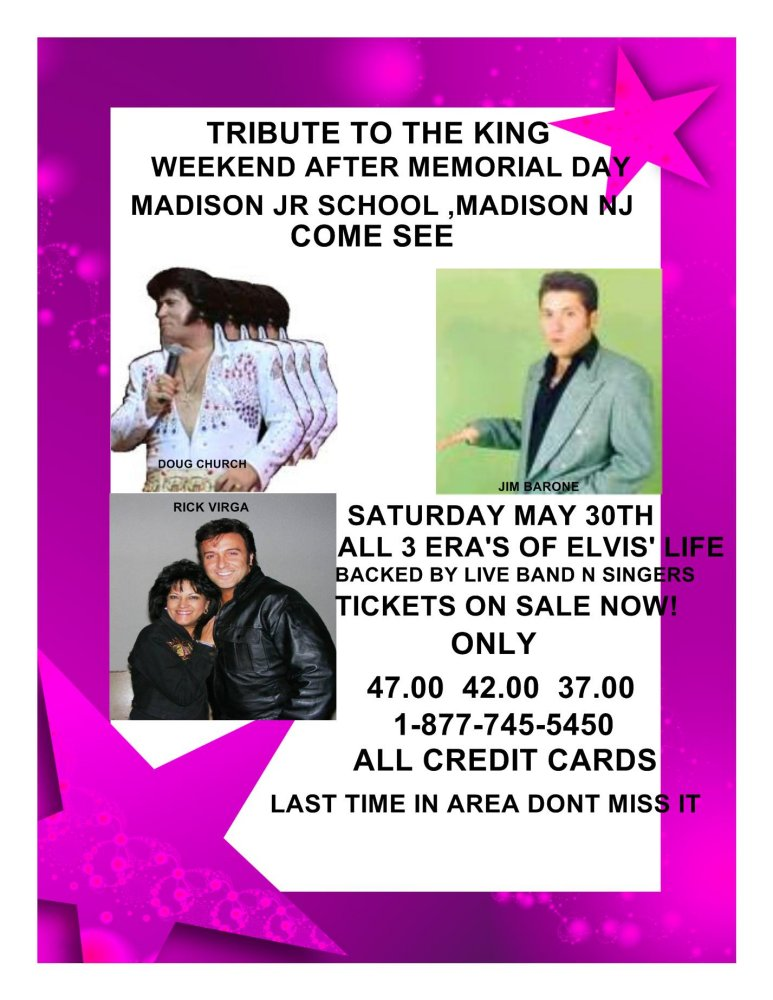 3 Eras's of Elvis' Life Dougch11