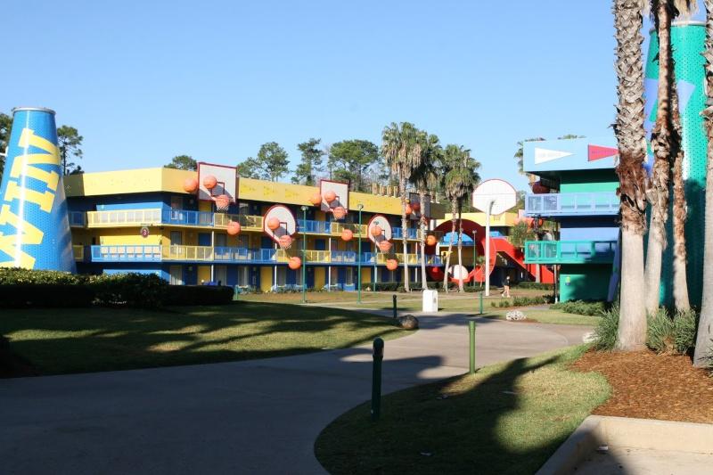 Les motels sportifs du Disney's All-Star Sports Resort (Floride) 13714710