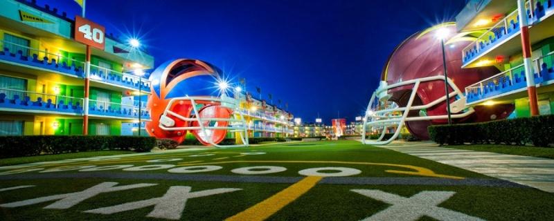 Les motels sportifs du Disney's All-Star Sports Resort (Floride) All-st10