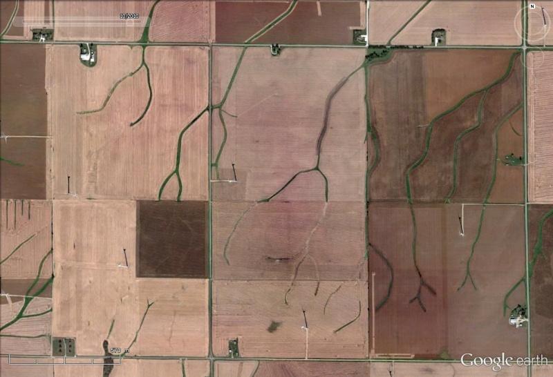 La jachère pour lutter contre la sécheresse et les effets du vent (Etats-Unis) Champs14