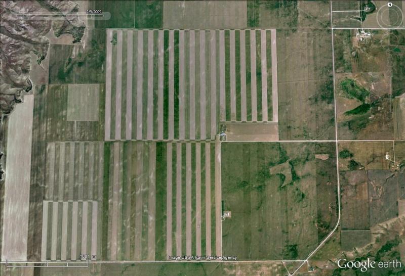 La jachère pour lutter contre la sécheresse et les effets du vent (Etats-Unis) Champs15