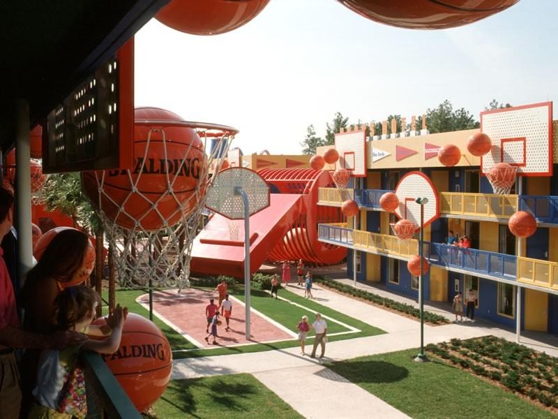 Les motels sportifs du Disney's All-Star Sports Resort (Floride) Disney10
