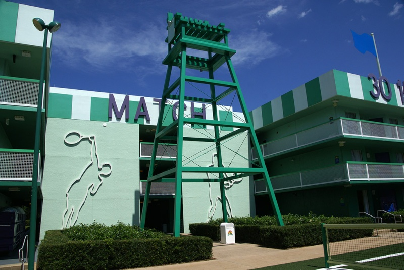 Les motels sportifs du Disney's All-Star Sports Resort (Floride) Disney12