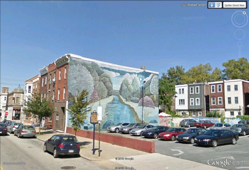 STREETVIEW : les fresques murales de Philadelphie  - Page 13 Moonli10