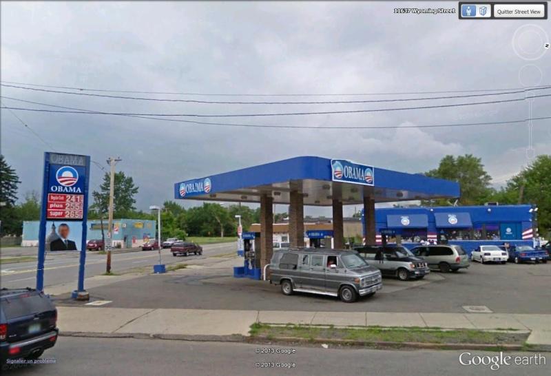 STREET VIEW : Station essence OBAMA Obama_12