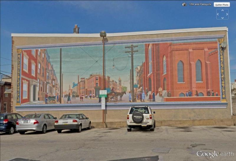 STREETVIEW : les fresques murales de Philadelphie  - Page 14 Pannea10