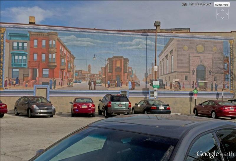 STREETVIEW : les fresques murales de Philadelphie  - Page 14 Pannea11
