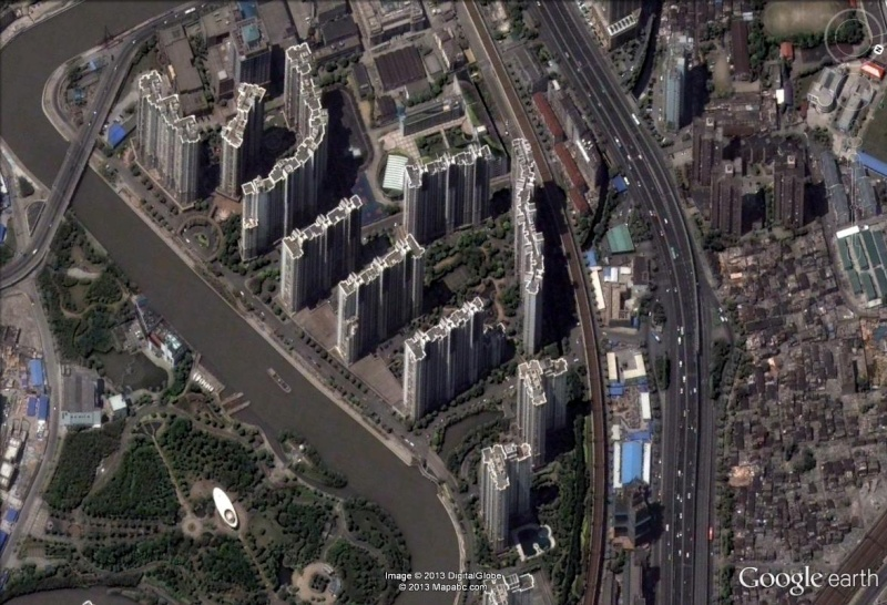 Cité à Shanghai - CHINE Shangh10