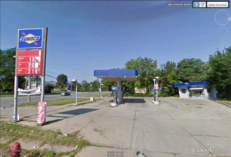 STREET VIEW : Station essence OBAMA Sunoco10