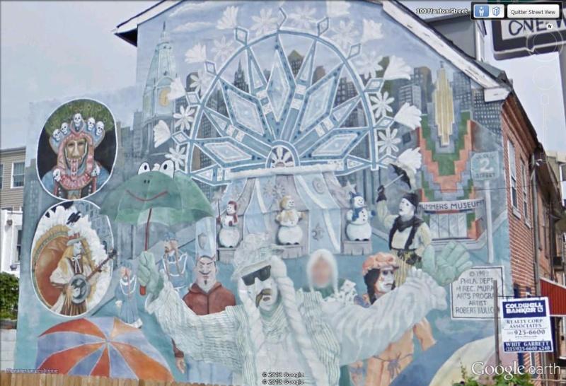 STREETVIEW : les fresques murales de Philadelphie  - Page 13 Welcom12