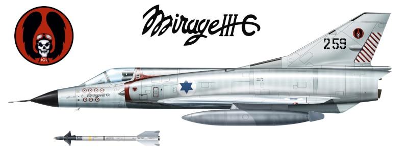 Mirage IIIC Shahak10