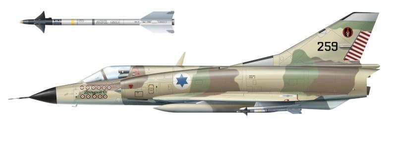 Mirage IIIC Shahak11
