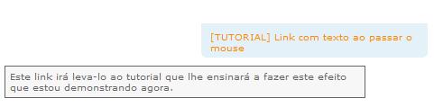[TUTORIAL] Link com texto ao passar o mouse Untitl18