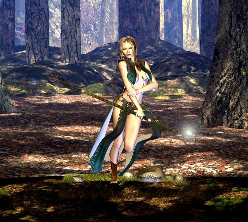 Wildwood Fantasy Woodland Mage Wildwo10