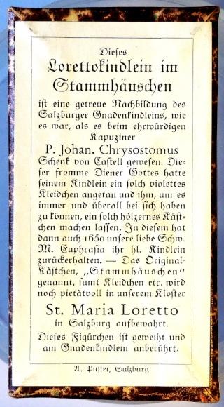 Niño Jesús de Loreto en Salzburgo - Cruz de San Benito, (R.M. SXVIII-O187) Lorett10