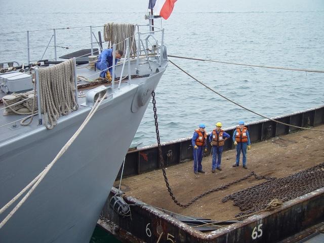[Autre sujet Marine Nationale] Démantèlement, déconstruction des navires - TOME 1 - Page 6 Dsc06510