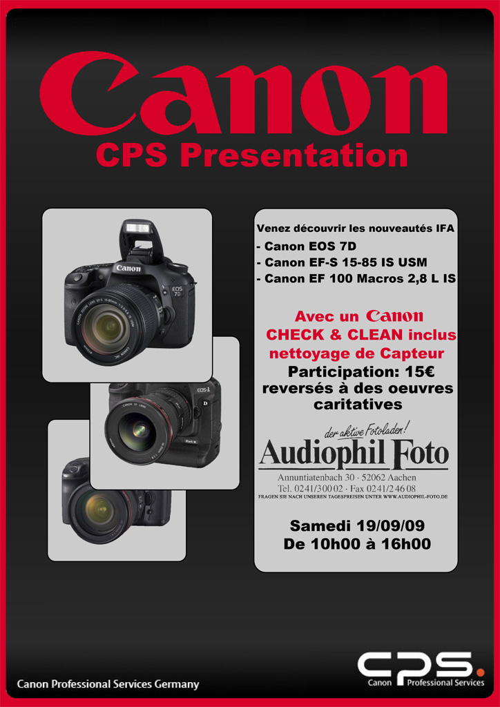 Canon Audiophil Foto Flyer110
