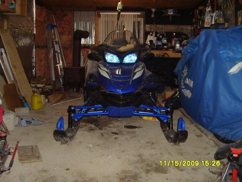 Marque de peinture bleu Yamaha pour accessoires... S7000014