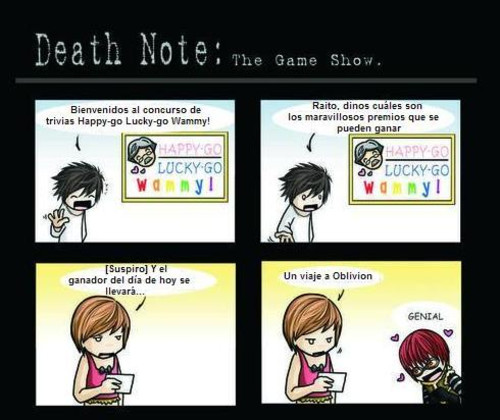 Death NOte: The Game Show 12496110