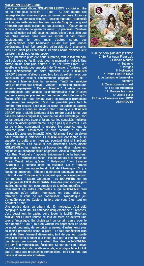 """Critiques de l'album """"folk"""" 15418610"""