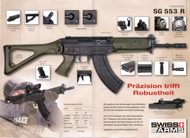 L'arme d'épaule la plus polyvalente... 553r10