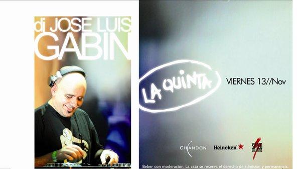 JOSE LUIS GABIN - LA QUINTA, san luis (VIE 13 NOV) 16357_10