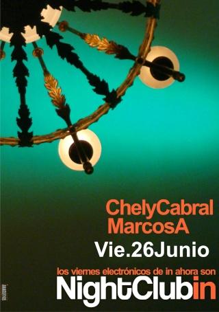 Night Club IN @ IN bar (Vie 26 Junio) Ciclos11