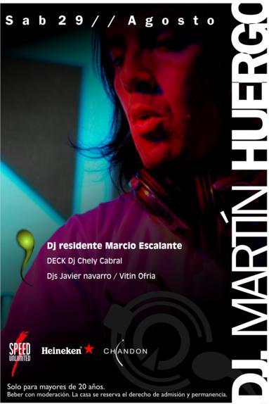 MARTIN HUERGO - LADO B Aqua, san luis (SAB 29 AGO) Martin11