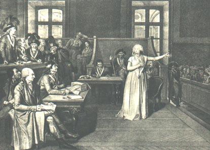 Le procès de Marie-Antoinette: images et illustrations Marie-10