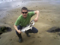 2 pound Sea trout Gerry10